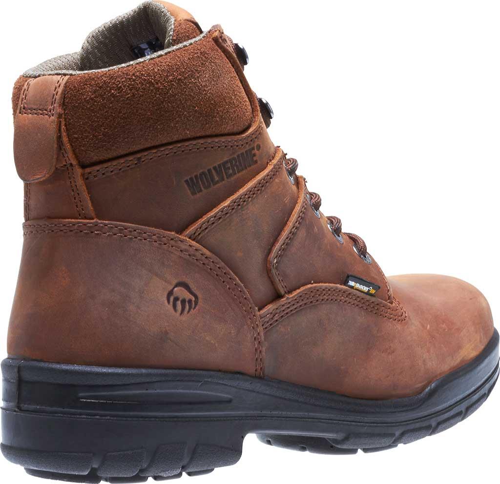 """Men's Wolverine Durashocks Slip Resistant 6"""" Steel Boot, Dark Brown, large, image 4"""