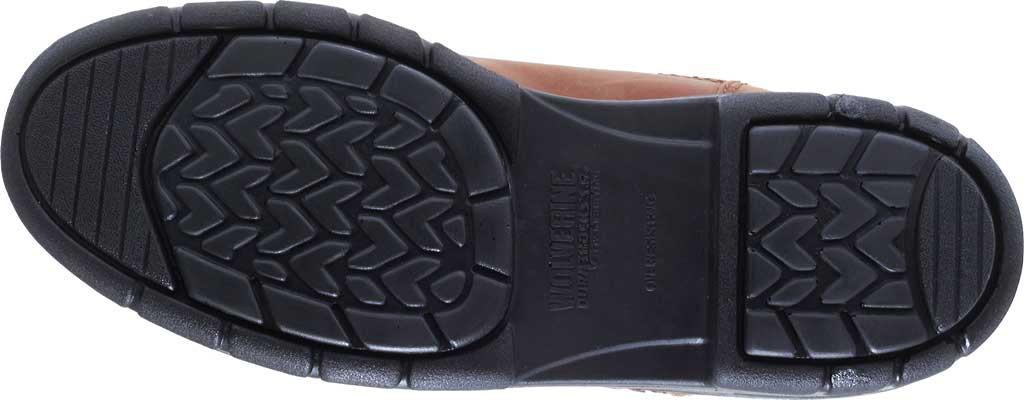 """Men's Wolverine Durashocks Slip Resistant 6"""" Steel Boot, Dark Brown, large, image 6"""