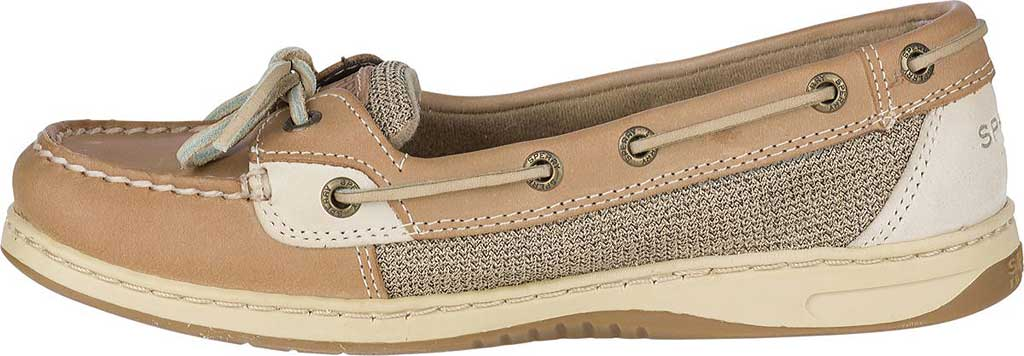 Women's Sperry Top-Sider Angelfish Boat Shoe, Linen/Oat, large, image 3