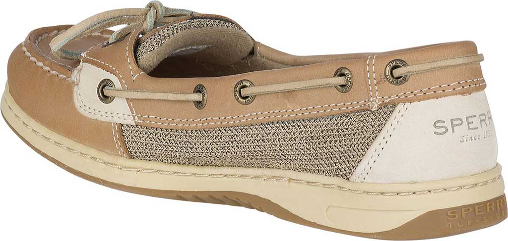Women's Sperry Top-Sider Angelfish Boat Shoe, Linen/Oat, large, image 4