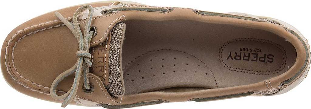 Women's Sperry Top-Sider Angelfish Boat Shoe, Linen/Oat, large, image 5