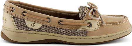 Women's Sperry Top-Sider Angelfish Boat Shoe, Linen/Oat, large, image 2
