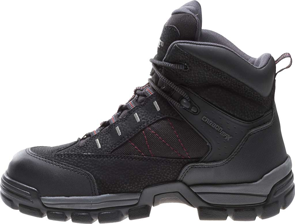 "Men's Wolverine Amphibian CarbonMAX Safety-Toe EH GTX WP 6"", Black, large, image 3"