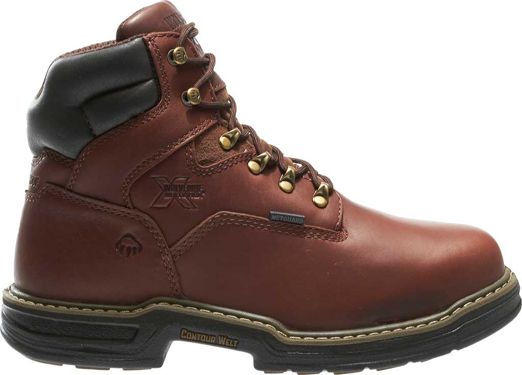 """Men's Wolverine Darco MultiShox Contour Welt 6"""" WP ST EH Boot, Brown, large, image 2"""