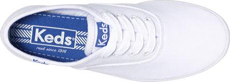 Girls' Keds Original Champion CVO, White Canvas, large, image 2