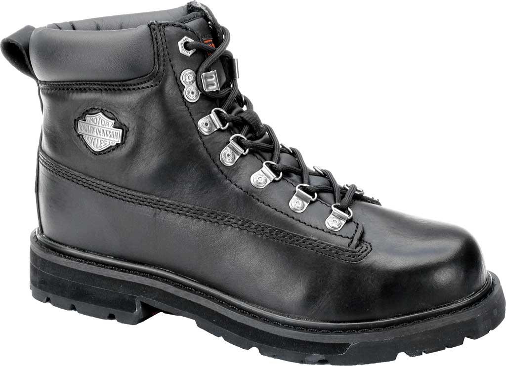 Men's Harley-Davidson Drive Safety Toe Ankle Boot, Black, large, image 1
