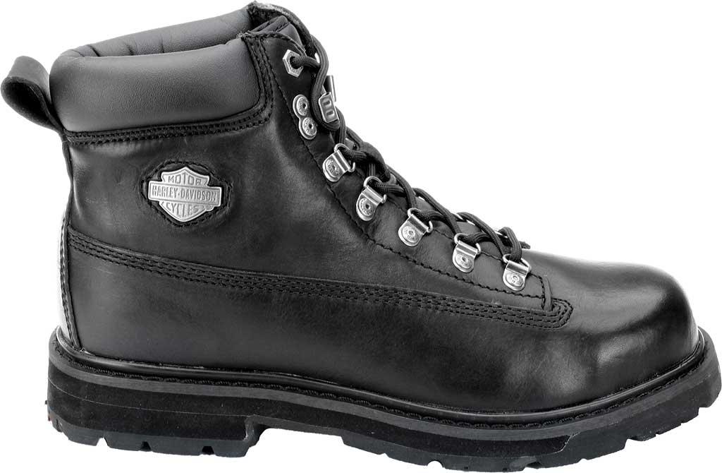 Men's Harley-Davidson Drive Safety Toe Ankle Boot, Black, large, image 2
