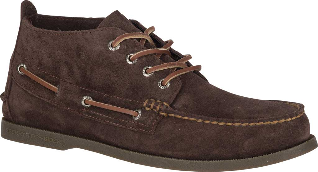Men's Sperry Top-Sider A/O Chukka Suede, Brown Suede, large, image 1