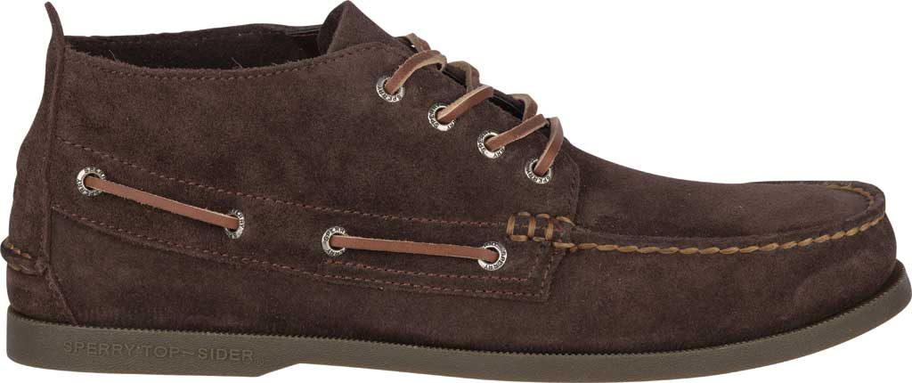 Men's Sperry Top-Sider A/O Chukka Suede, Brown Suede, large, image 2