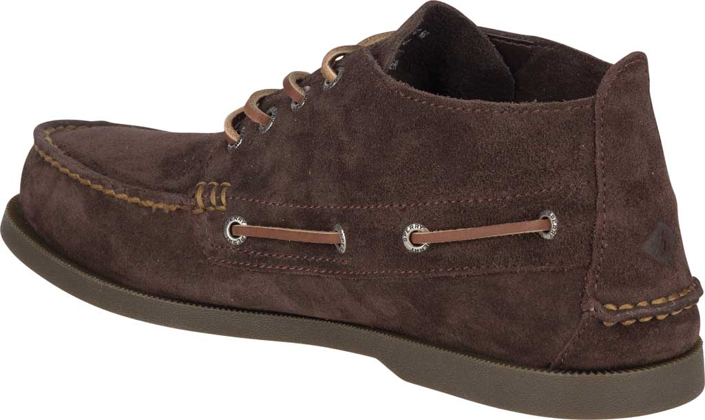 Men's Sperry Top-Sider A/O Chukka Suede, Brown Suede, large, image 4