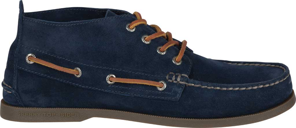 Men's Sperry Top-Sider A/O Chukka Suede, Navy Suede, large, image 2