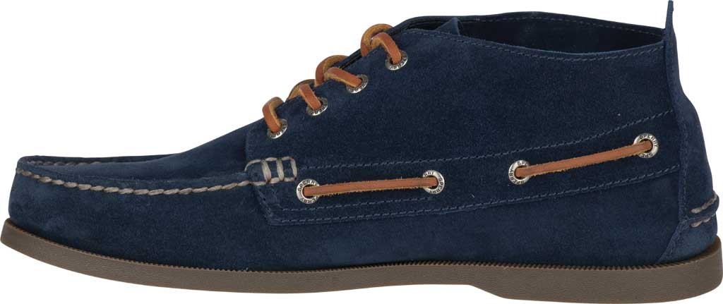 Men's Sperry Top-Sider A/O Chukka Suede, Navy Suede, large, image 3