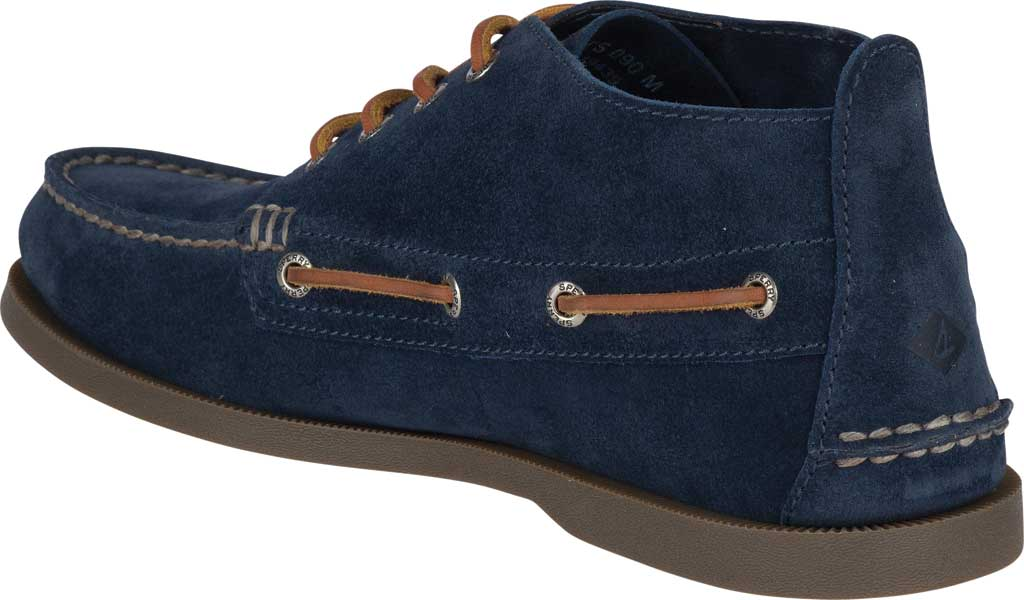 Men's Sperry Top-Sider A/O Chukka Suede, Navy Suede, large, image 4