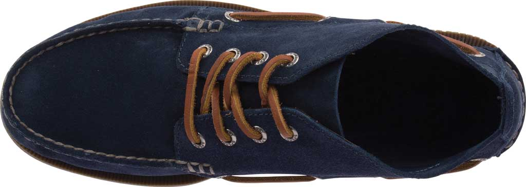 Men's Sperry Top-Sider A/O Chukka Suede, Navy Suede, large, image 5
