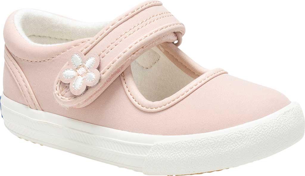 Infant Girls' Keds Ella MJ, Pink Leather, large, image 1