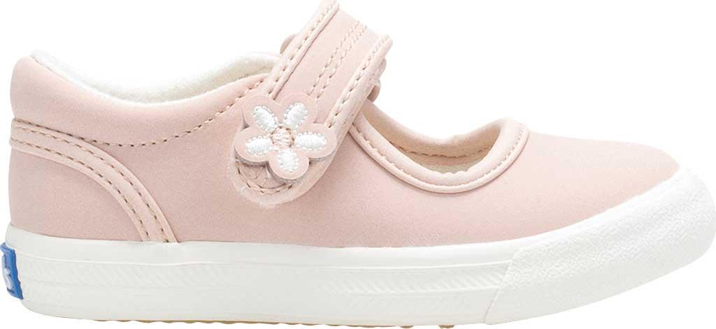 Infant Girls' Keds Ella MJ, Pink Leather, large, image 2