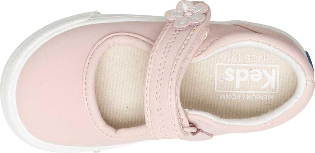Infant Girls' Keds Ella MJ, Pink Leather, large, image 4