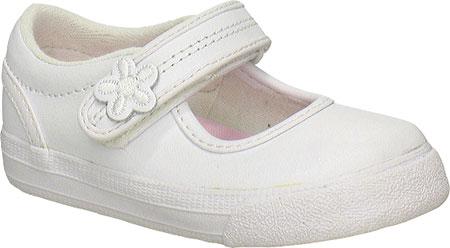 Girls' Keds Ella MJ, White Leather, large, image 1