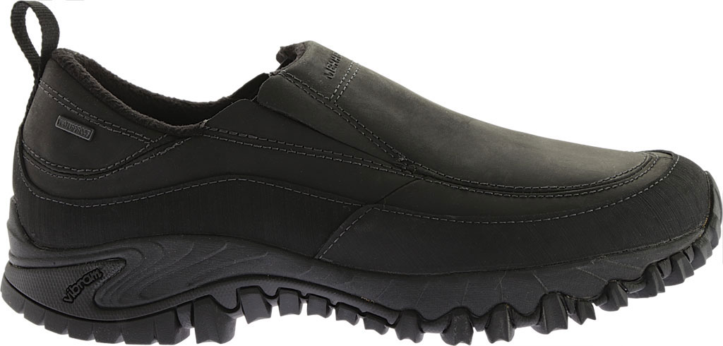 Men's Merrell Shiver Moc 2 Waterproof, Black, large, image 2