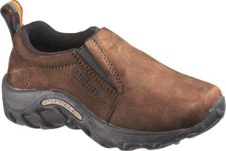 Children's Merrell Jungle Moc Nubuck, Brown, large, image 1