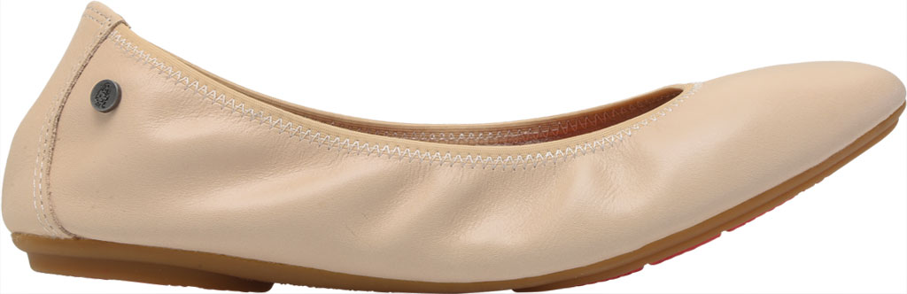 Women's Hush Puppies Chaste Ballet Flat, Nude Leather, large, image 2