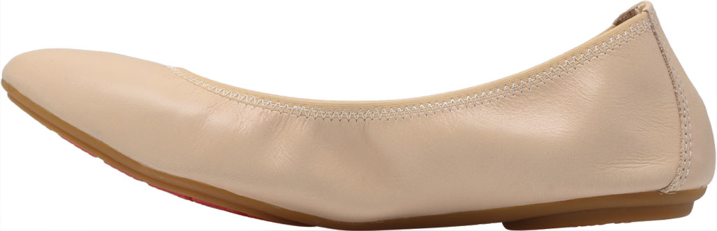 Women's Hush Puppies Chaste Ballet Flat, Nude Leather, large, image 3
