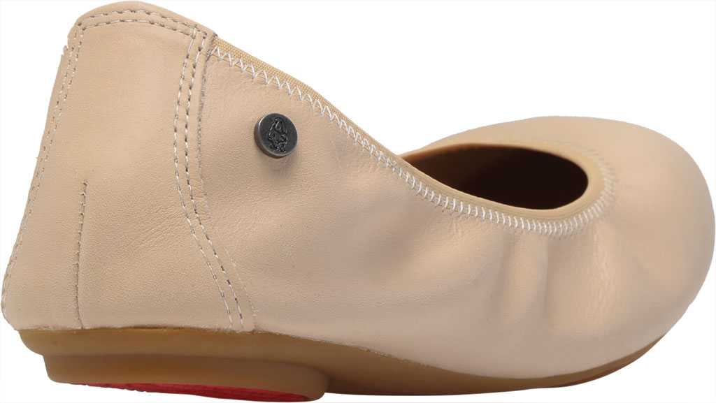 Women's Hush Puppies Chaste Ballet Flat, Nude Leather, large, image 4