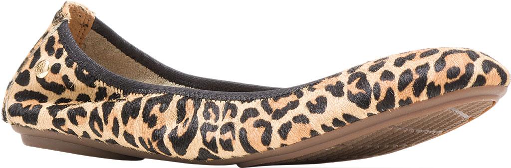 Women's Hush Puppies Chaste Ballet Flat, Leopard Calf Hair, large, image 1