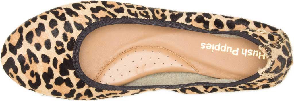 Women's Hush Puppies Chaste Ballet Flat, Leopard Calf Hair, large, image 4