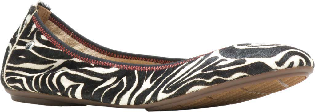 Women's Hush Puppies Chaste Ballet Flat, Zebra Calf Hair, large, image 1
