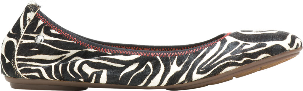 Women's Hush Puppies Chaste Ballet Flat, Zebra Calf Hair, large, image 2