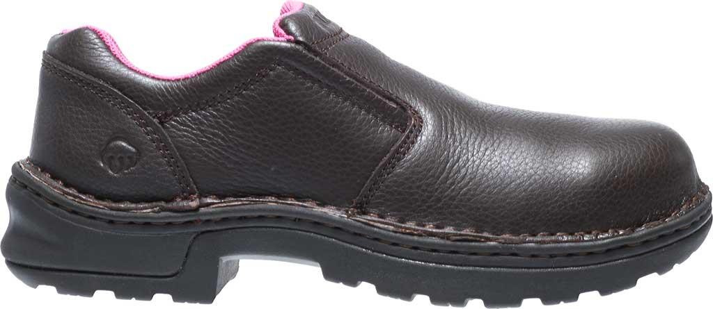 Women's Wolverine Bailey Opanka Slip-On Steel Toe EH Boot, Brown, large, image 2