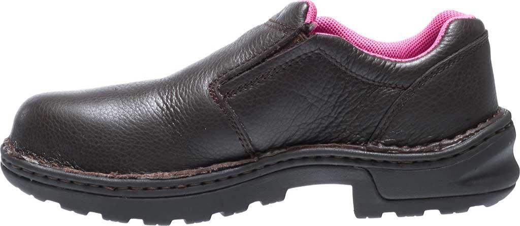 Women's Wolverine Bailey Opanka Slip-On Steel Toe EH Boot, Brown, large, image 3