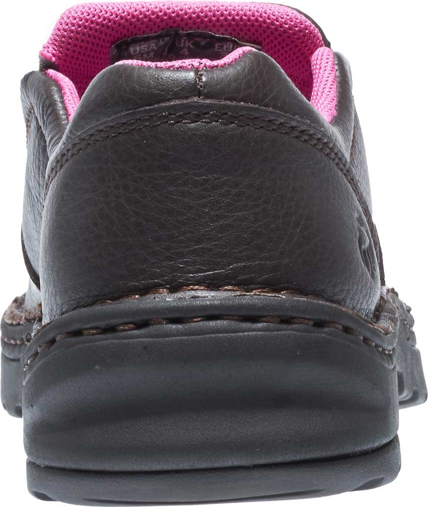 Women's Wolverine Bailey Opanka Slip-On Steel Toe EH Boot, Brown, large, image 4