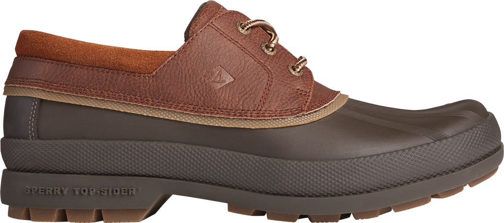 Men's Sperry Top-Sider Cold Bay 3-Eye, Brown/Tan Leather/Rubber, large, image 2