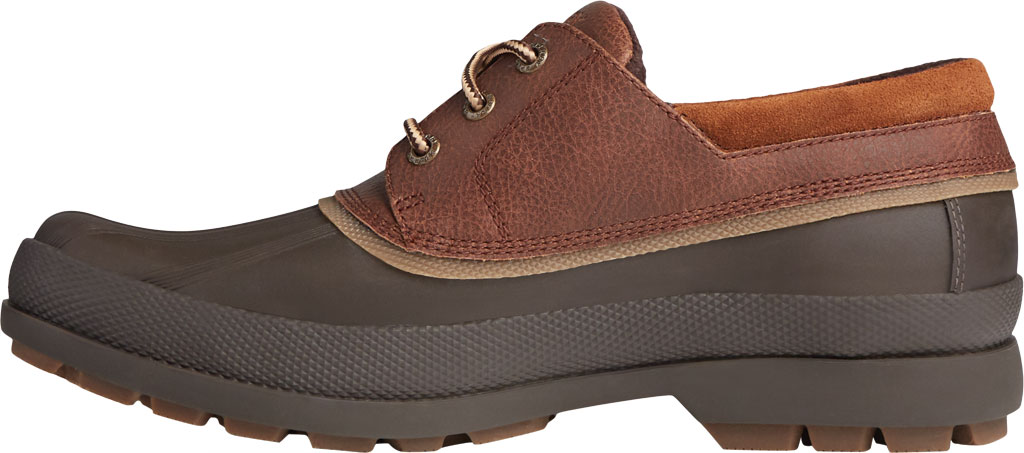 Men's Sperry Top-Sider Cold Bay 3-Eye, Brown/Tan Leather/Rubber, large, image 3