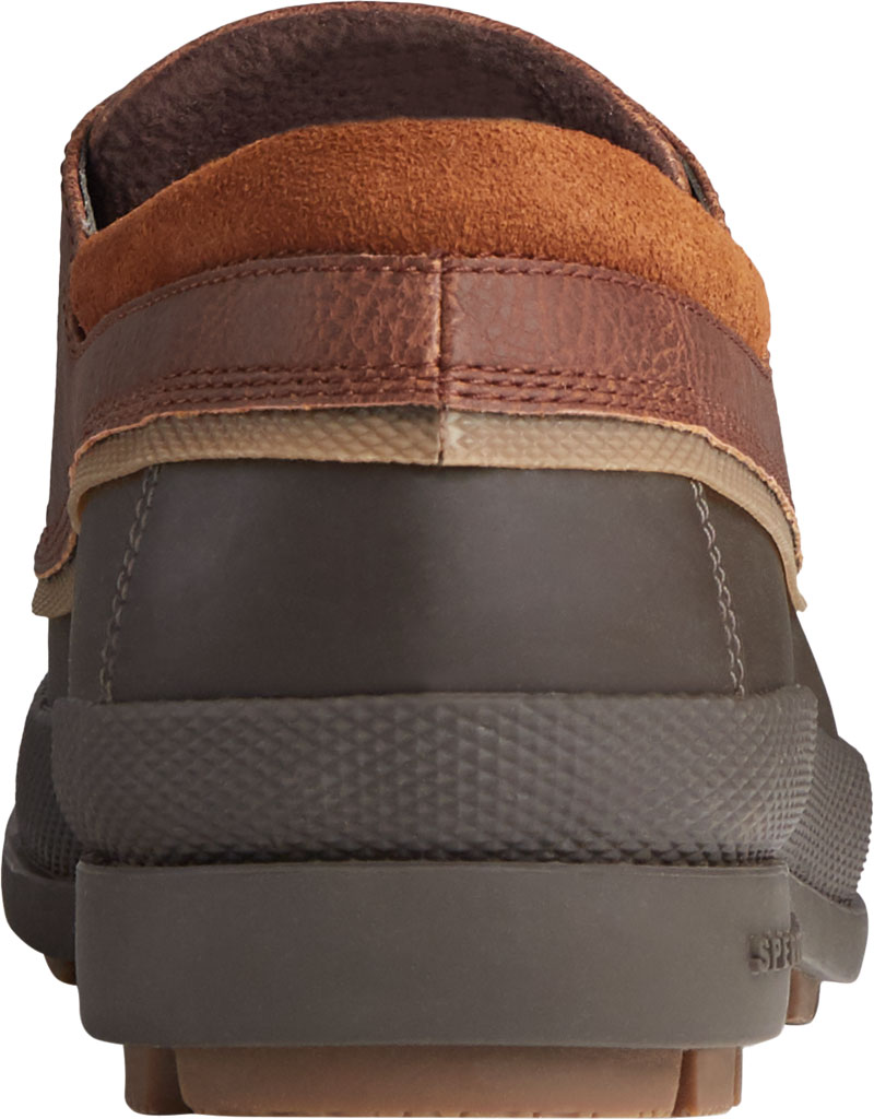Men's Sperry Top-Sider Cold Bay 3-Eye, Brown/Tan Leather/Rubber, large, image 4