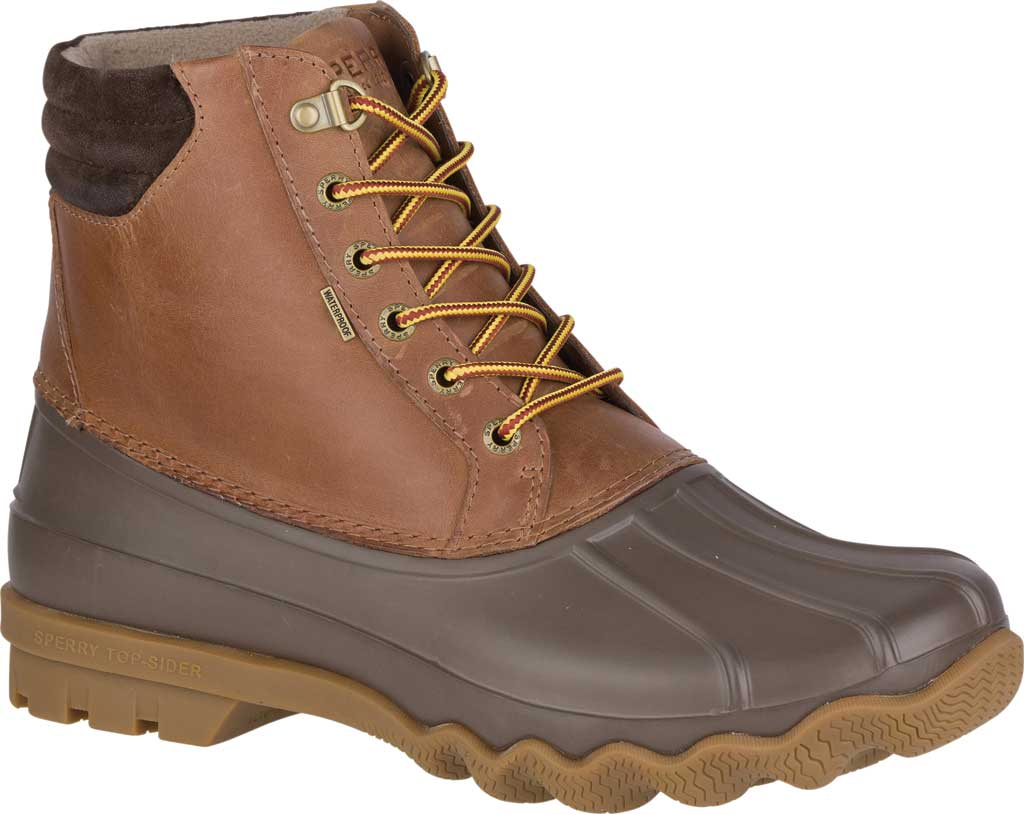 Men's Sperry Top-Sider Avenue Duck Boot, Tan/Brown, large, image 1
