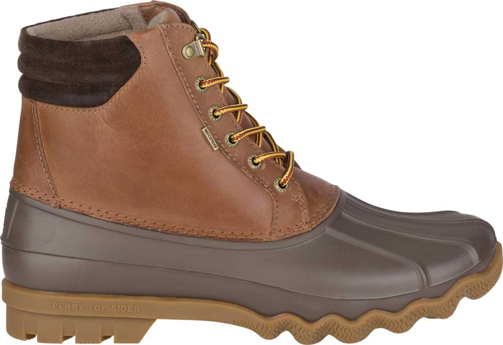 Men's Sperry Top-Sider Avenue Duck Boot, Tan/Brown, large, image 2
