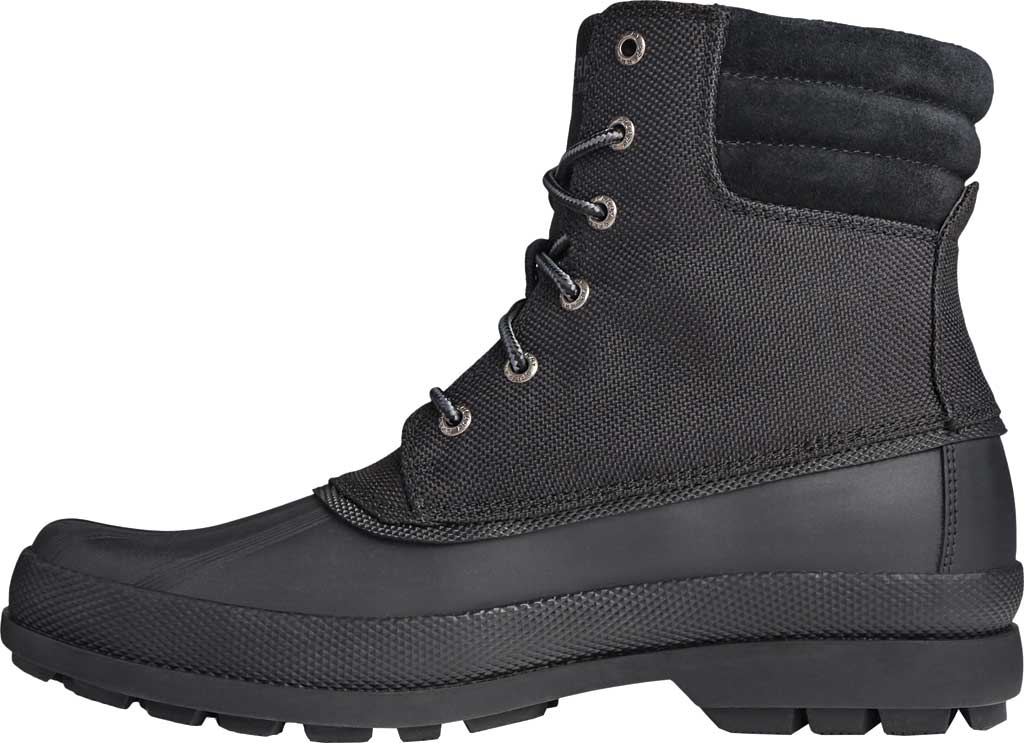 Men's Sperry Top-Sider Cold Bay Boot, Black Nylon/Rubber, large, image 3