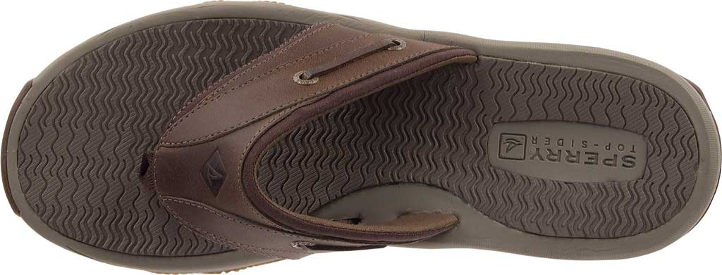 Men's Sperry Top-Sider Outer Banks Thong, Brown Full Grain/Oiled Leather, large, image 4