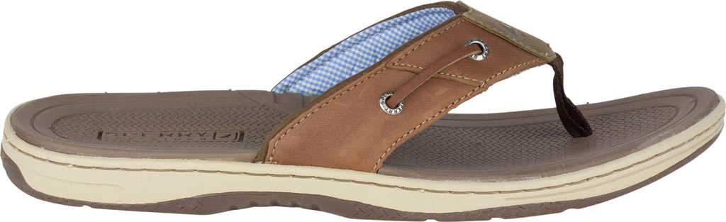 Men's Sperry Top-Sider Baitfish Thong, Tan (Boxed), large, image 2