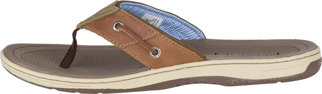 Men's Sperry Top-Sider Baitfish Thong, Tan (Boxed), large, image 3