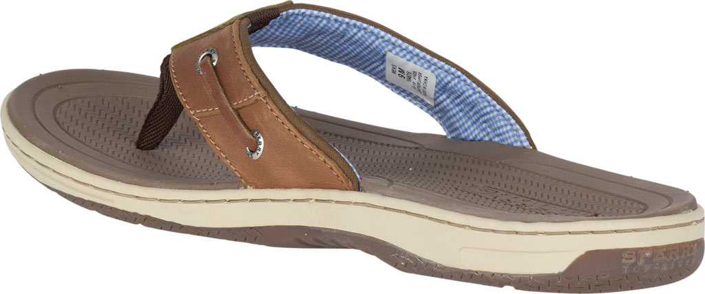 Men's Sperry Top-Sider Baitfish Thong, Tan (Boxed), large, image 4