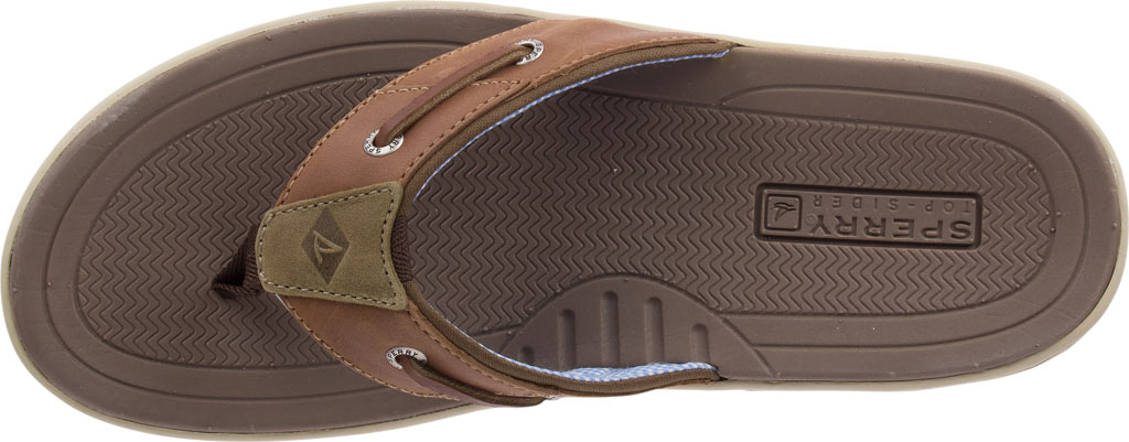 Men's Sperry Top-Sider Baitfish Thong, Tan (Boxed), large, image 5