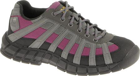 Women's Caterpillar Switch Steel Toe Oxford, Black/Baton Rouge, large, image 1