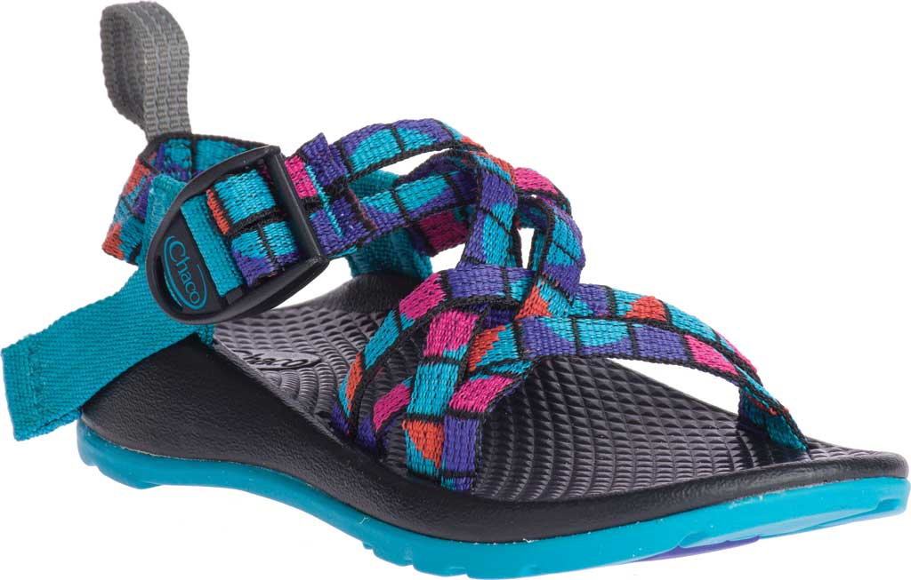 Children's Chaco ZX/1 EcoTread, Break Teal, large, image 1