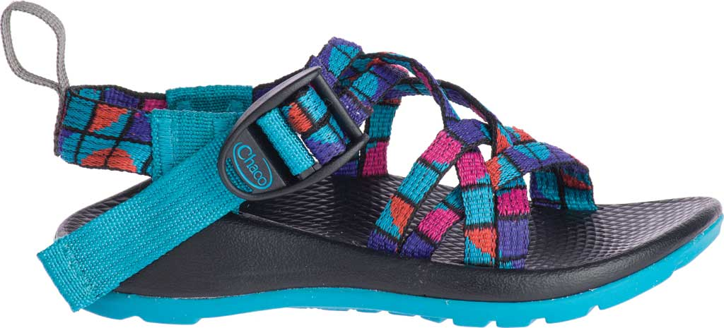Children's Chaco ZX/1 EcoTread, Break Teal, large, image 2