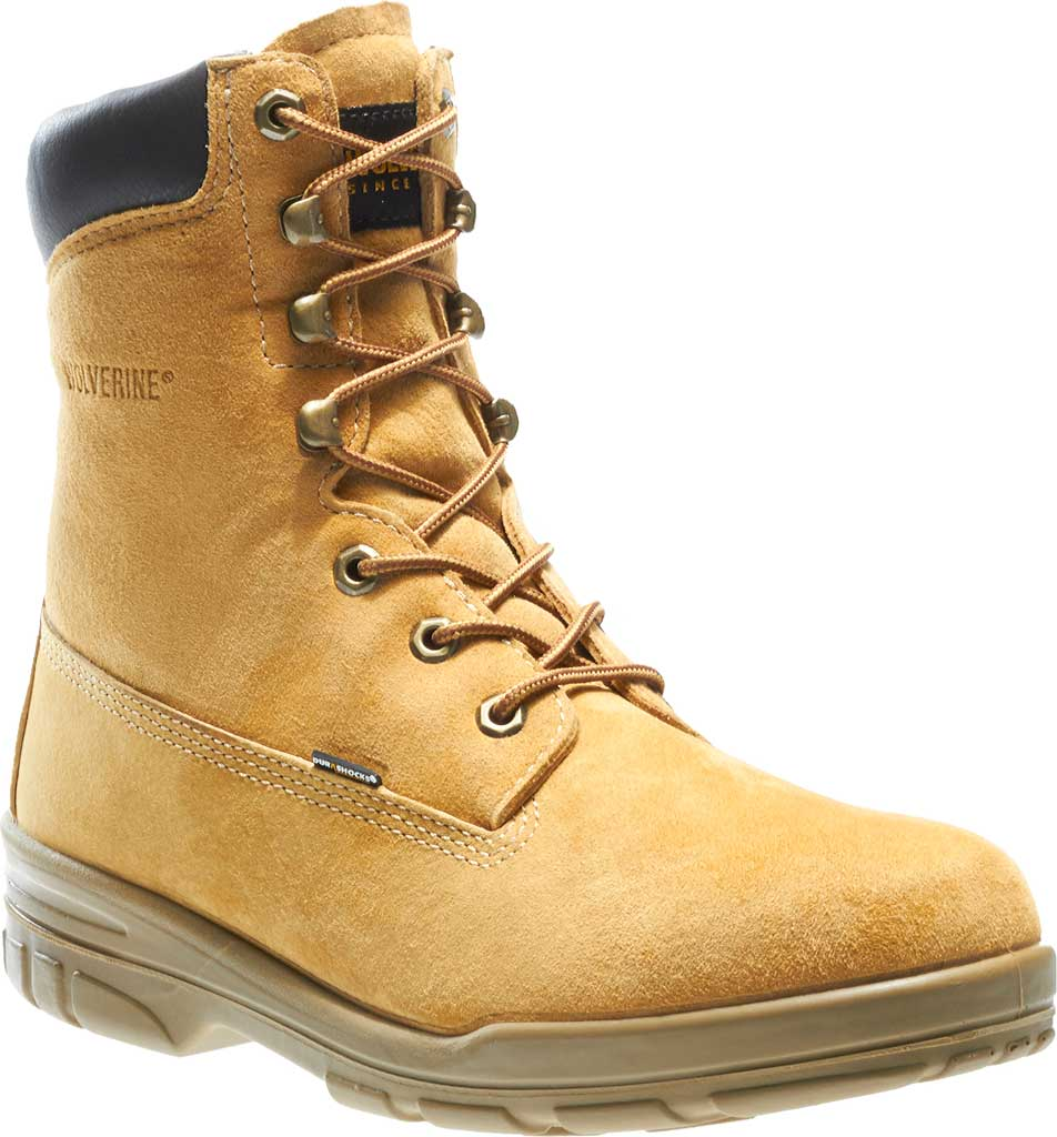 Men's Wolverine Trappeur Insulated Waterproof Boot, Gold, large, image 1