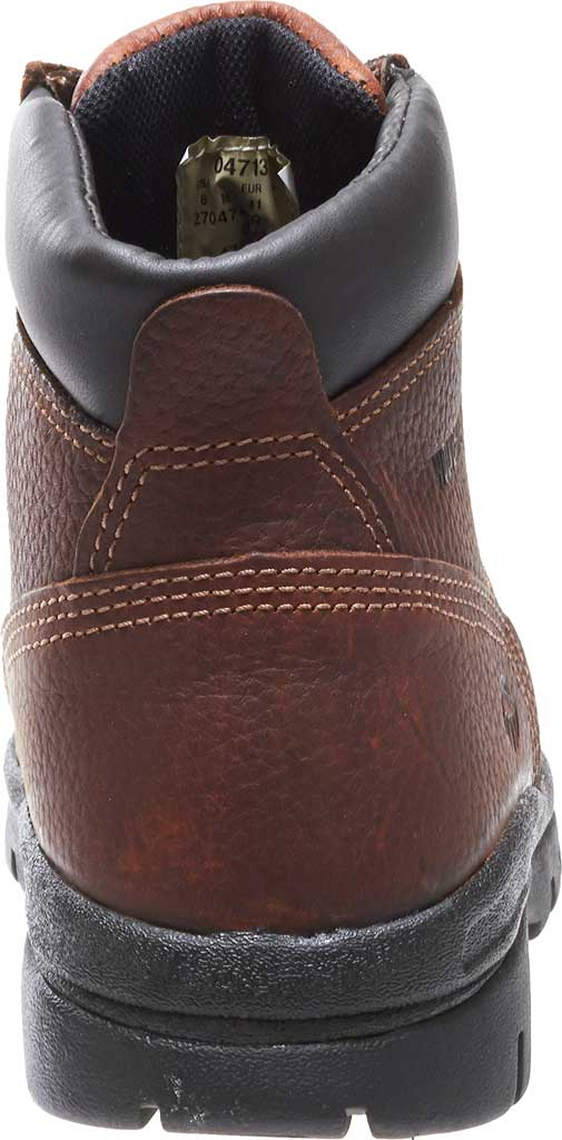 Men's Wolverine Marquette SR Steel Toe Boot, Walnut, large, image 4
